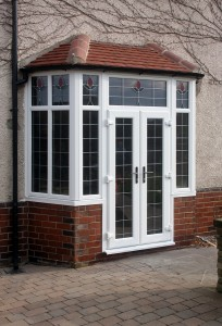 uPVC French Doors in porch